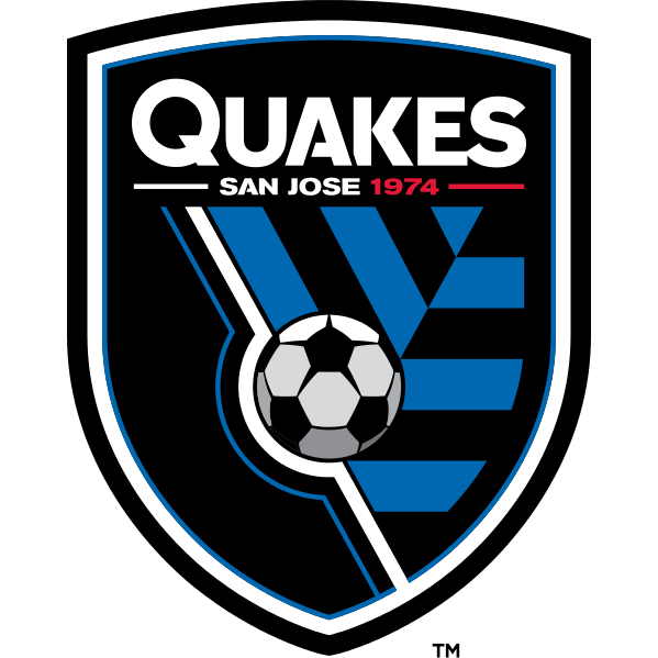 Logo Klub Sepakbola San Jose Earthquakes PNG