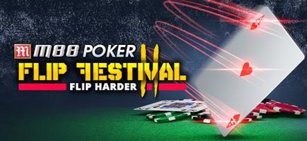Turnamen M88 Poker Flip 2