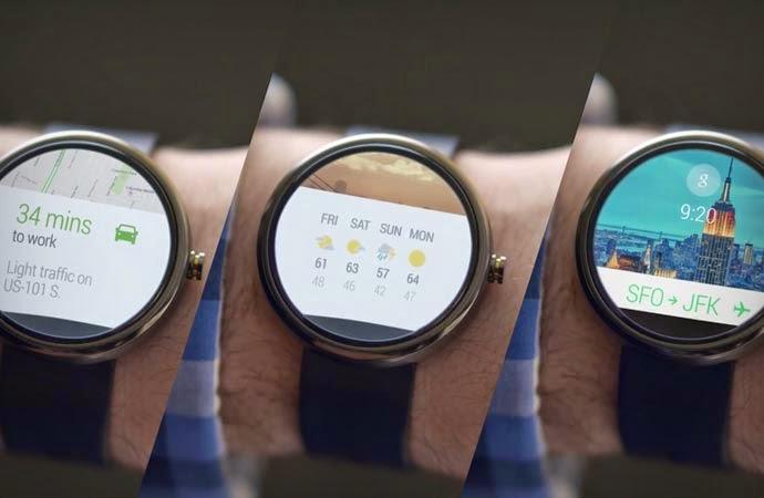 جوجل تطلق التحديث الأول لنظام Android Wear
