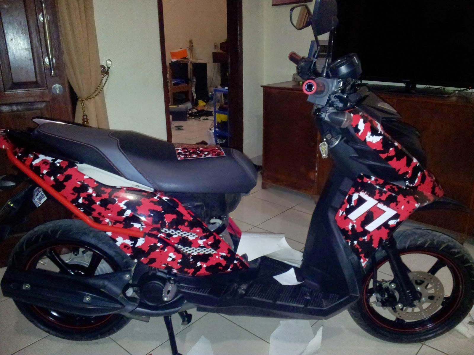 Download Kumpulan Modifikasi Motor Trail X Ride Terlengkap Velgy Motor