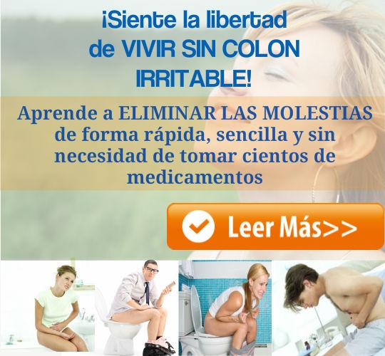 Elimina las molestias del Intestino Irritable de forma fácil, rápida y natural