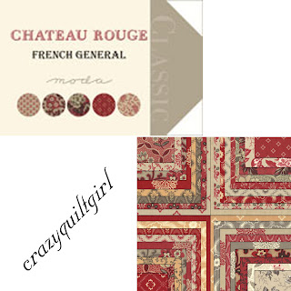 Moda CHATEAU ROUGE Quilt Fabric by French General