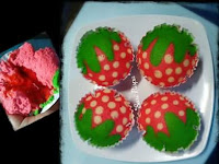 Resep Bolu Kukus Motif Buah Strawberry