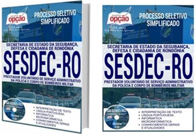 Apostila Concurso SESDEC-RO 2017