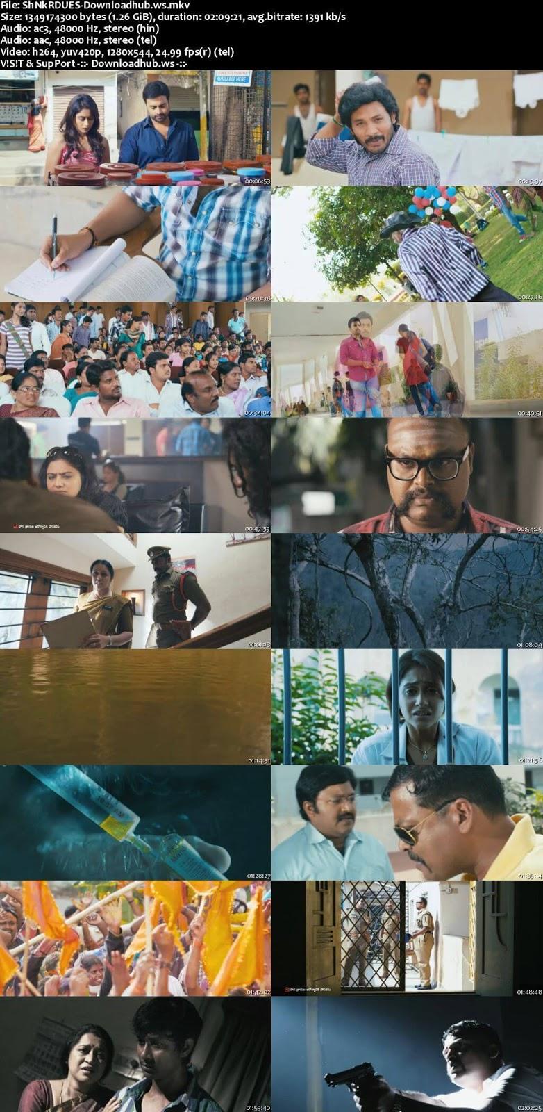 Shankara 2016 UNCUT Hindi Dual Audio 720p  Download