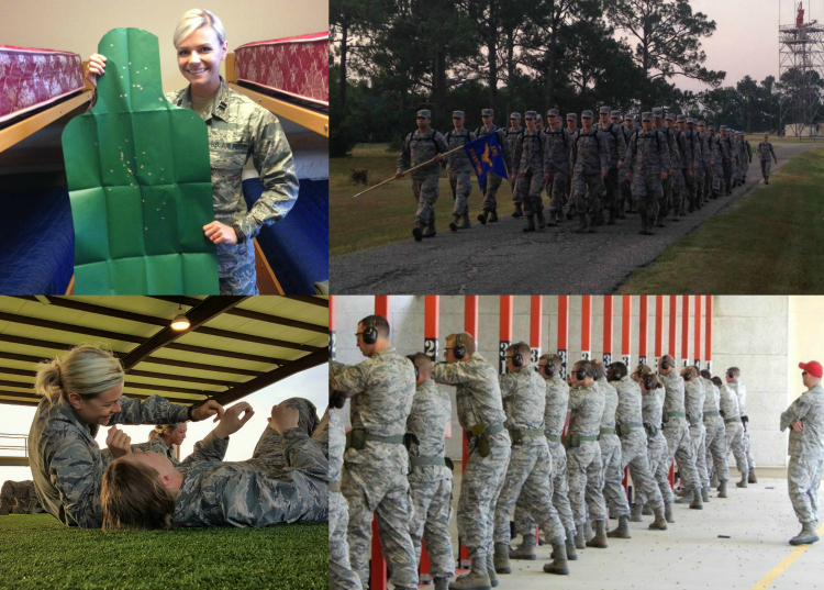 Officer Training School, Air Force OTS Combatives
