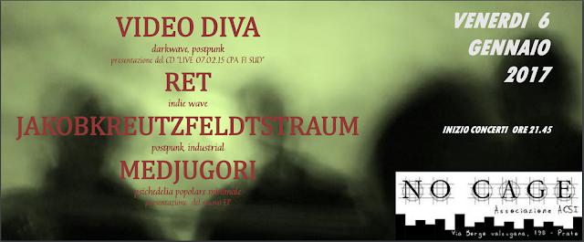 Video Diva / RET / Jakobkreutzfeldtstraum / Medjugori