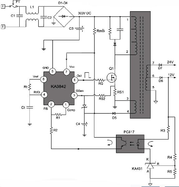 Khối nguồn của Tivi - LCD (Phần 3)