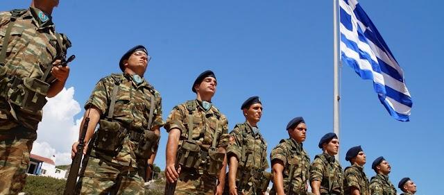 «Σείστηκε» το Καστελόριζο από τον Εθνικό Ύμνο των Ελλήνων Στρατιωτών (ΒΙΝΤΕΟ)