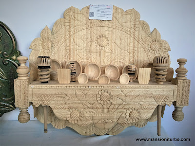 Different Handicrafts made of wood you will find in Pátzcuaro an its surroundings