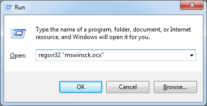 windows xp mswinsck.ocx cara