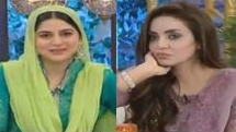 nadia khan, nadia khan in morning show with sanam baloch