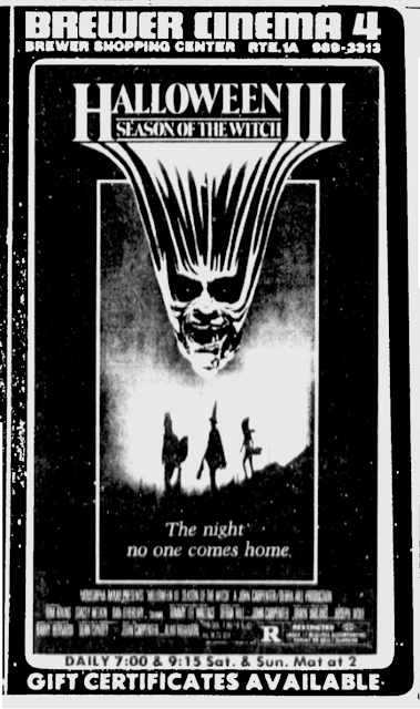 tv guide and newspaper ads - Halloween 3 Season Of The Witch Remake