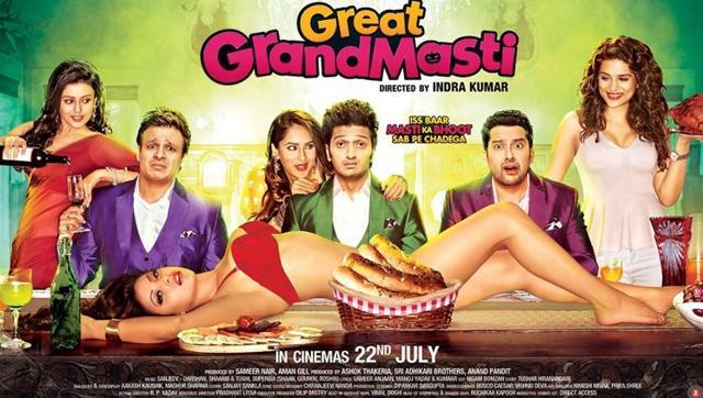 Great Grand Masti Official Poster 2016