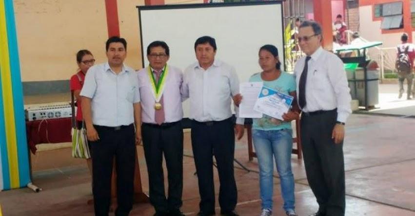 FONDEP: Once proyectos de innovación fueron premiados en Mazamari - UGEL Satipo - www.fondep.gob.pe