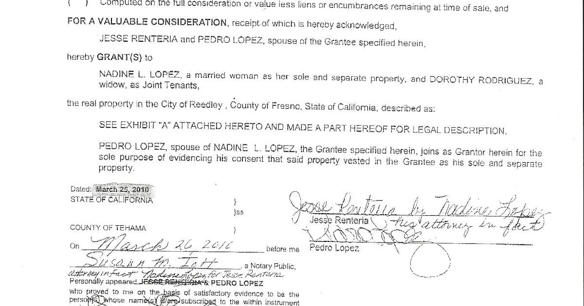 grant deed california Estate Planning in California: Grant Deed