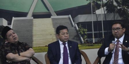 Pengakuan Fadli Zon dan Fahri Hamzah Soal Kedekatan Dengan Setya Novanto
