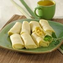Resep Kue Dadar Gulung Isi Vla Durian Enak
