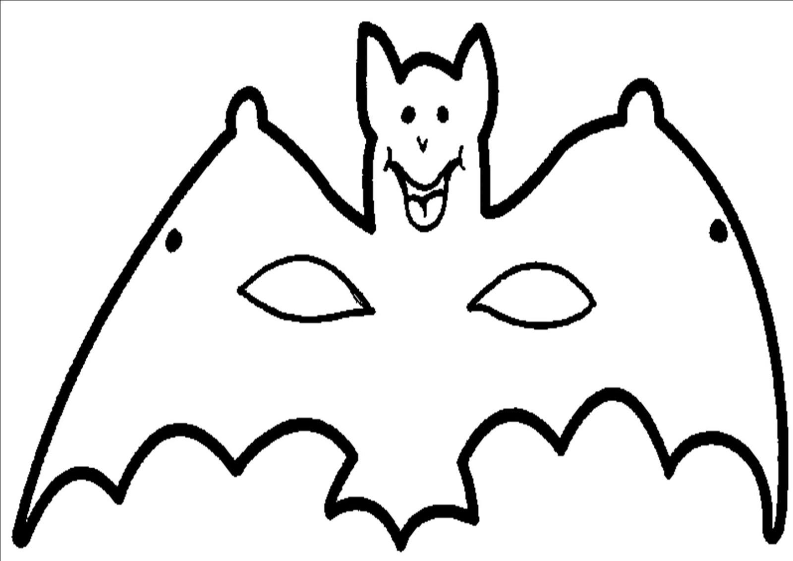 Mascaras De Halloween Para Colorear Imagui