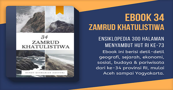 300 Halaman Ensiklopedia Zamrud Khatulistiwa Ada Dalam Genggaman