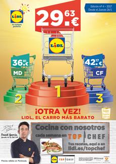 """Catálogo Lidl """"Lidl, el carro más barato"""""""