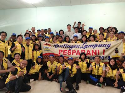 LP3KD Lepas Kontingen Pesparani 1 Lampung ke Ambon