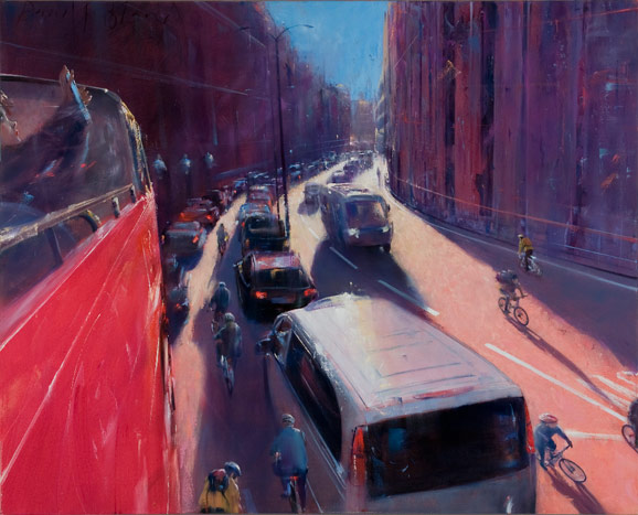 David FeBland, 1949 | City Paintings