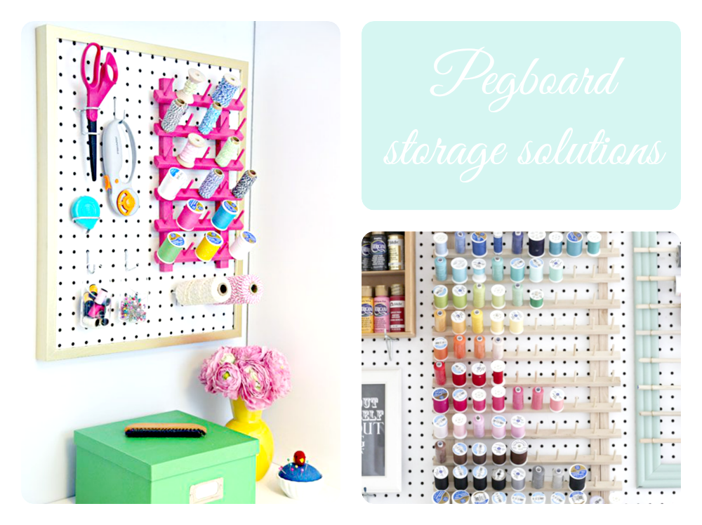 pegboard crafty solutions
