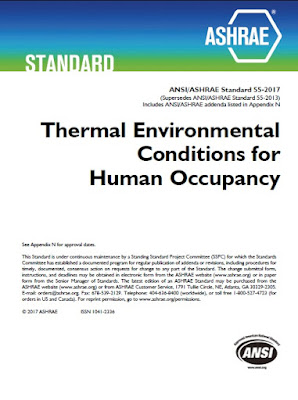 ANSI/ASHRAE Standard 55-2017 ;Thermal Environmental Conditions for Human Occupancy;comfort ;ASHRAE; comfort