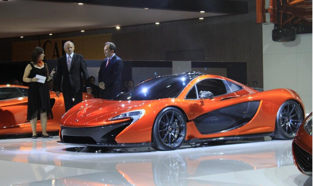 all car logos: mclaren p1 supercar: first specs and live photos