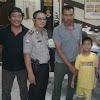 SPKT Polsek Curug Kembalikan Anak Hilang Kepada Orang Tuanya