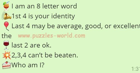 8 letter words i am an 8 letter word who am i puzzles world 20292