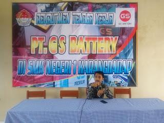 Rekrutmen PT. GS BAttery Semarang