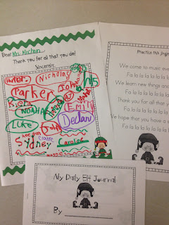 Elf on a Shelf-Day 1 - First Grade Roars!