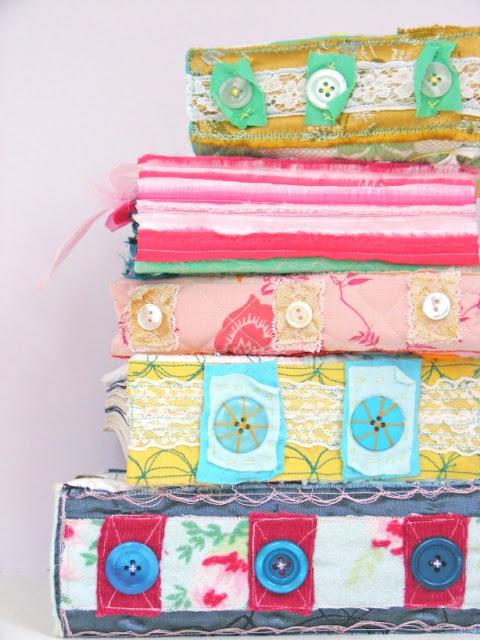 fabric books, crafting, handmade books, Jenny Blair