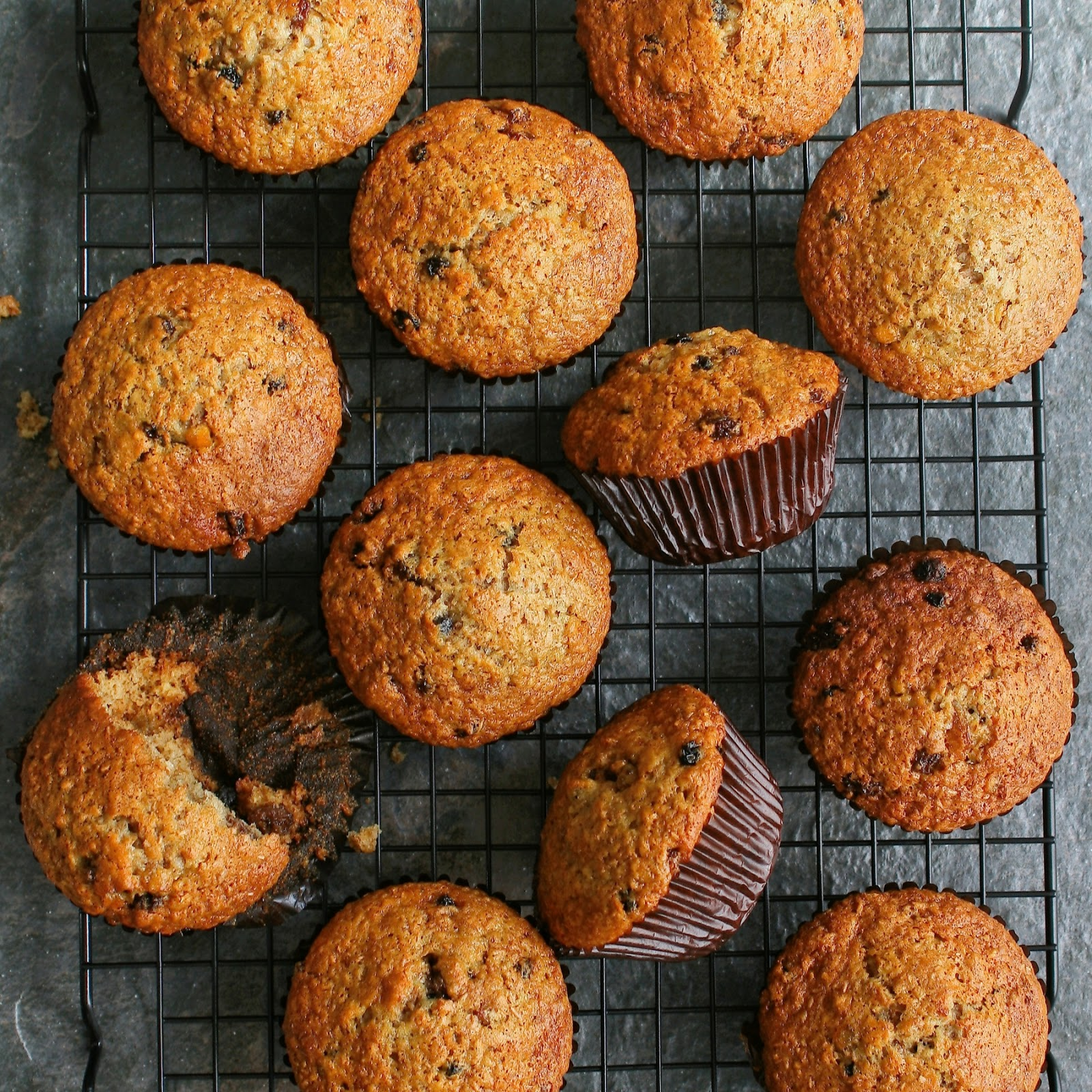 Bran muffins for kids.
