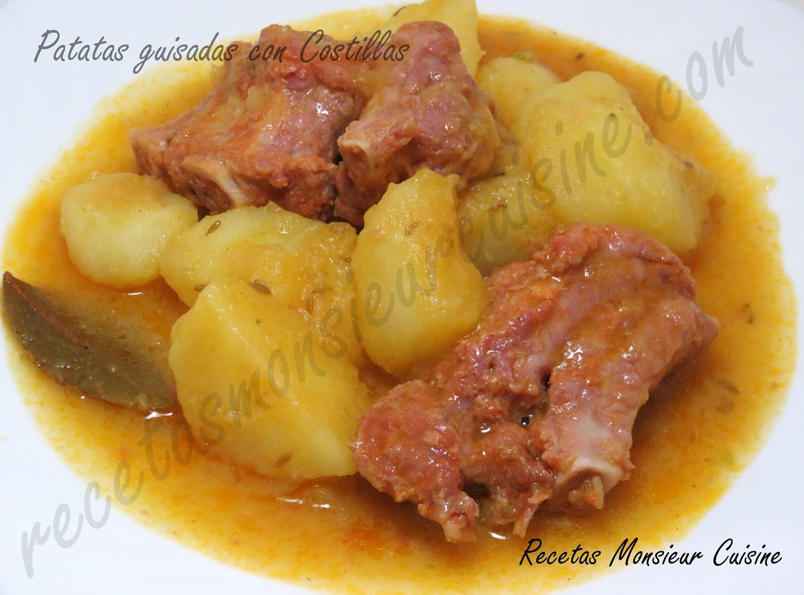 Recetas Monsieur Cuisine Patatas Guisadas Con Costillas
