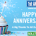 The Solution In Hindi Celebrate 1st Anniversary — Big Thanks ❤ To Our Readers