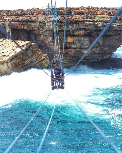 foto gondola pantai timang gunung kidul