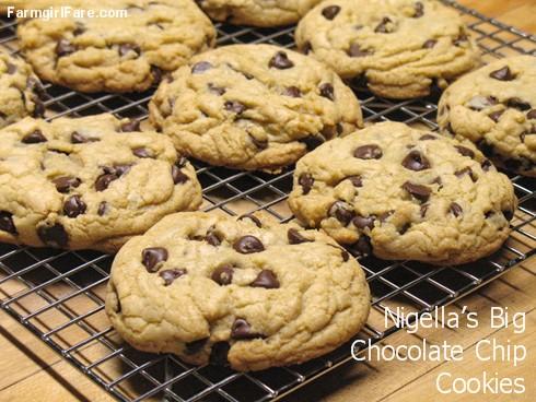 Farmgirl Fare Recipe Nigella S Big Chocolate Chip Cookies Two Ways