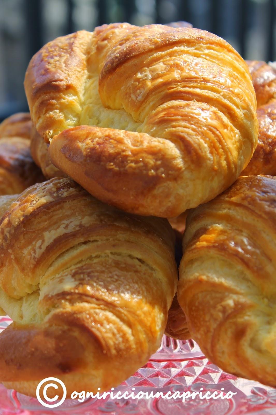 croissant sfogliati come quelli del bar