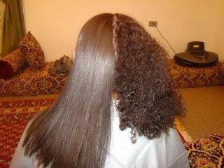 lisser les cheveux bouclés ou curly
