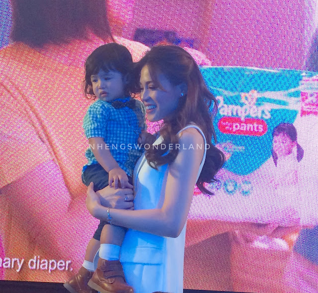 Toni and Baby Seve Launched the Pampers Go Galaw Dance
