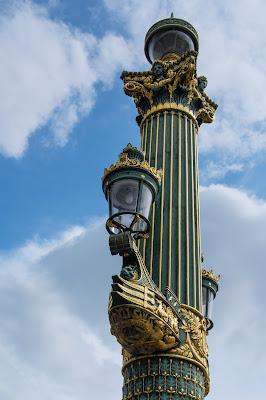 Lamppost, Place de la Concorde