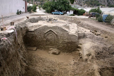 Mud preserved Byzantine city 700 years ago