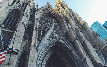 Wallpaper: St. Patricks Cathedral in New York