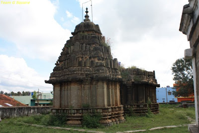 Rear view of the Chennakeshava Temple in Bangalore