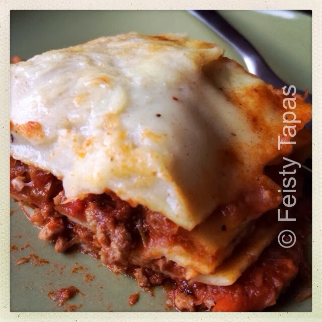Thermomix bolognese (perfect for spaghetti bolognese or lasagna)