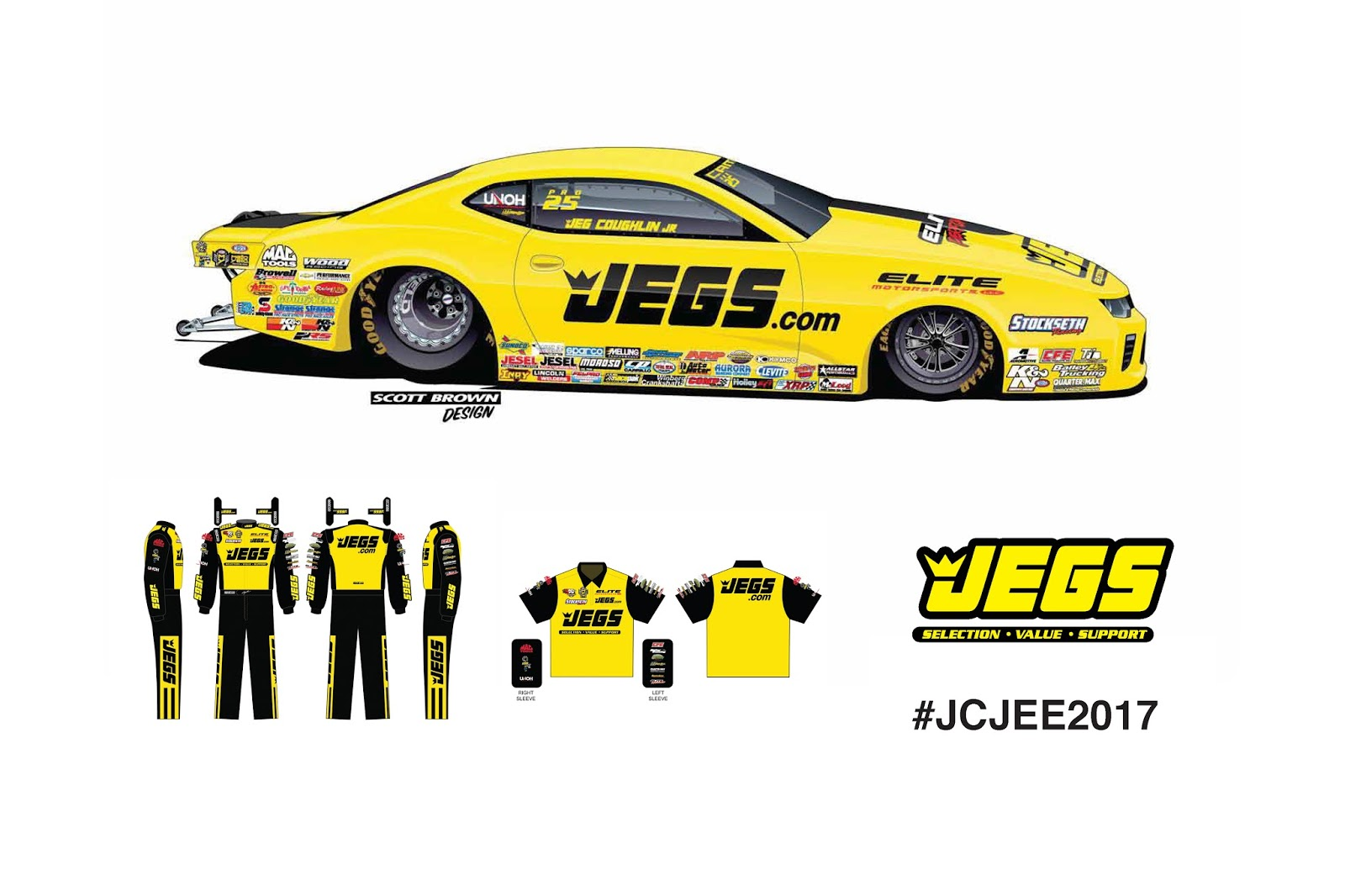 ... multi-time world champion drag racers Jeg Coughlin Jr. and Erica Enders will fight for the 2017 Mello Yello Drag Racing Series Pro Stock crown in a pair ...