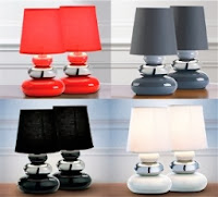 Pebbles Table Lamps